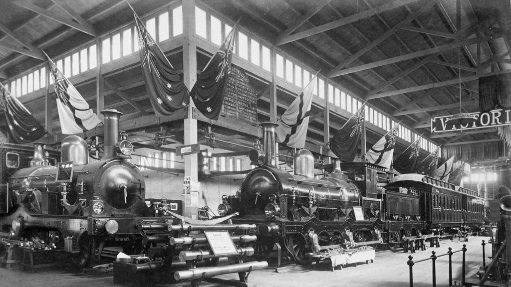 Melbourne International Exhibition 1880.