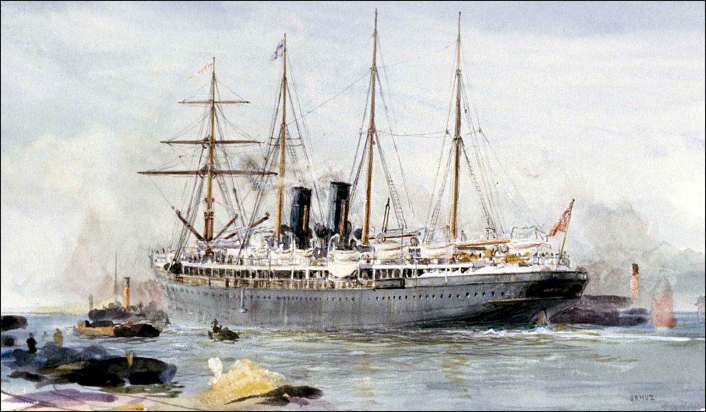 Orient Line RMS Orizba